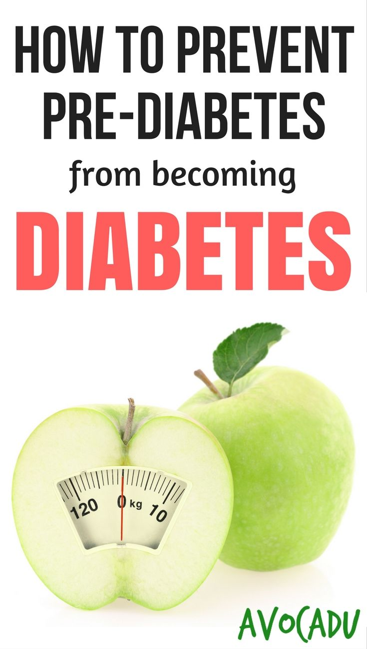 Have you been diagnosed as pre-diabetic and are you worried about the possibility of developing Type 2 diabetes? http://avocadu.com/prevent-pre-diabetes-becoming-diabetes/