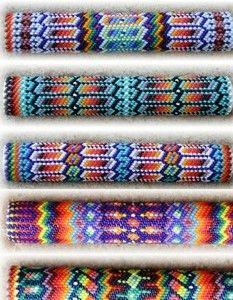 Техника плетения бисером пейот