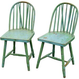 Painted Country Chairs