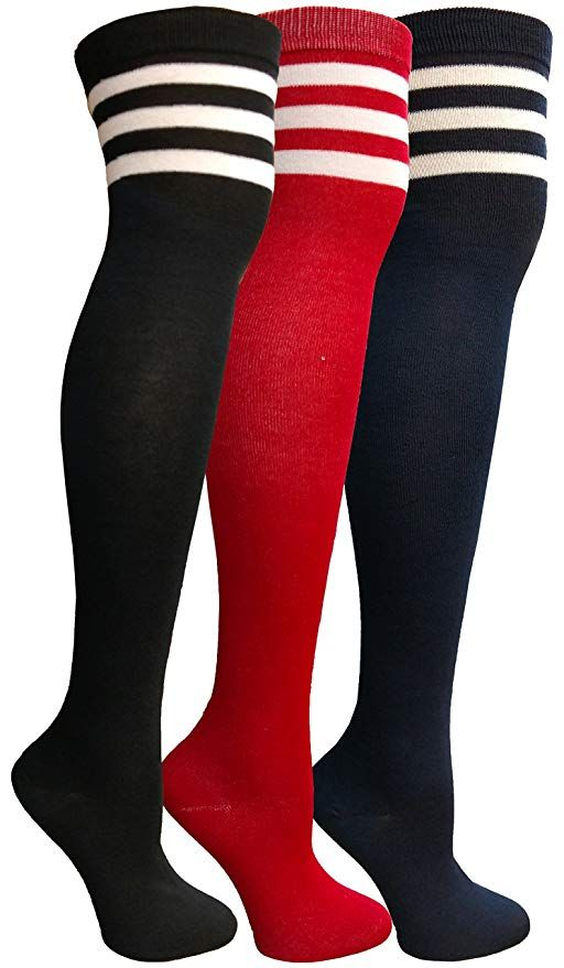 aff550a68 Yacht Smith Womens Over the Knee Socks