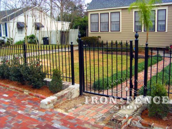 Customer Diy Weekend Project Adding An Wrought Iron Fence