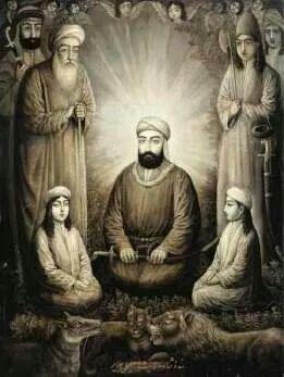 İsmail Jalayir, 19 yy. Hz Ali, Hasan ve Hüseyin