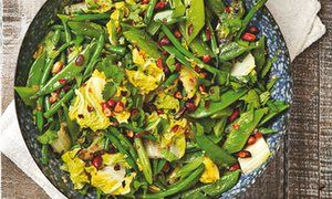 Yotam Ottolenghi's green beans with peanuts and lime