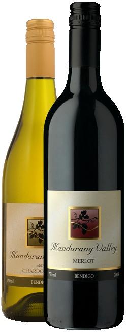 Mandurang Valley Wines  77 Fadersons Lane, Mandurang, Vic, 3551  Phone: 03 54 395 367