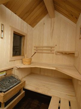 Custom Cut Home Sauna Kit, for Indoor & Outdoor Saunas