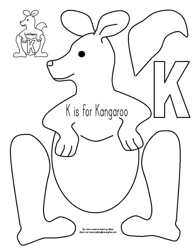 Kangaroo project for kids