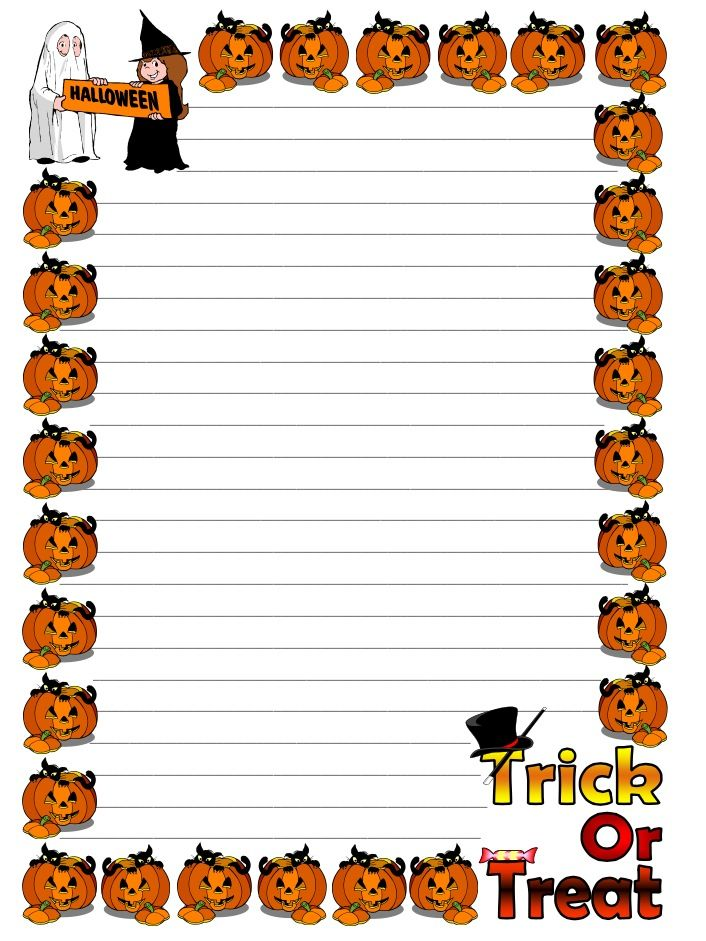 halloween writing paper Free printable halloween writing paper: free halloween party invitations 1 2 3 free printable halloween invitation cards, halloween costume party invites.