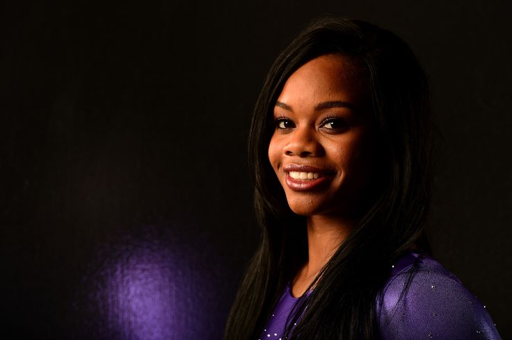 LOS ANGELES, CA - NOVEMBER 20:  Gymnast Gabby Douglas poses for a portrait at the USOC Rio Olympics Shoot at Quixote…