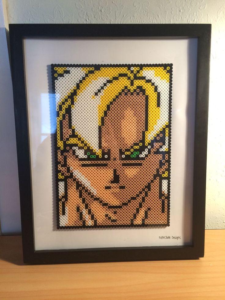 Goku - Framed. via SuperJade Designs. Click on the image to see more!