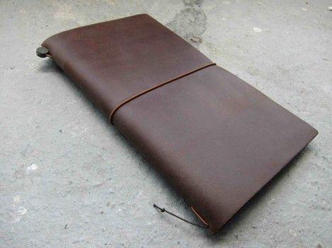 Midori Traveler's Notebook Brown | Miscellaneous