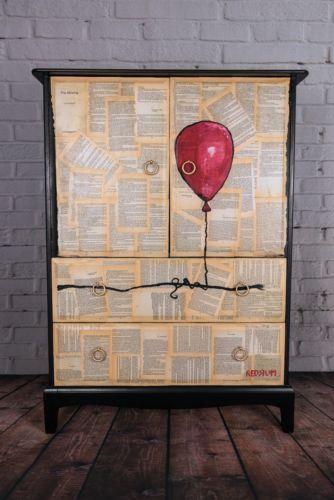 Upcycled-Vintage-retro-solid-wood-wardrobe-tallboy-valet-storage-unit-Upcycled-v