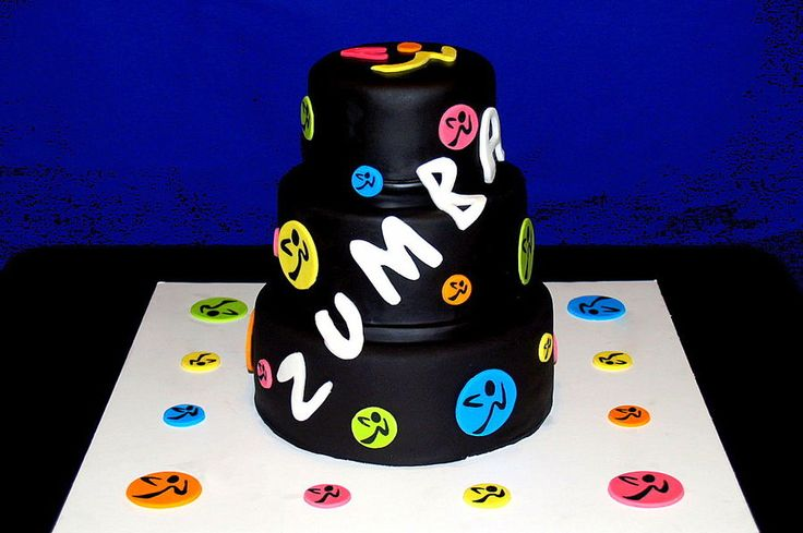 Zumba Theme Birthday Cakes Images