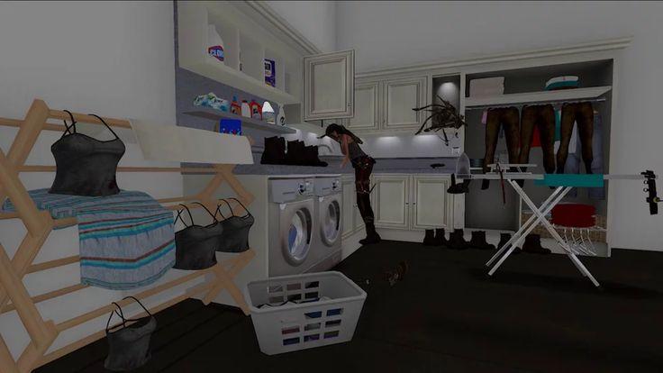 Lara Croft, Domestic Goddess I & II, Georgie Roxby Smith, 2013 on Vimeo
