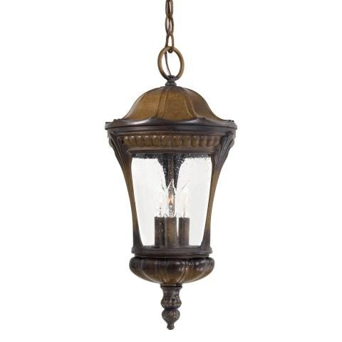 Kent place 3 lt outdoor chain hung 3 light chain hung in prussian