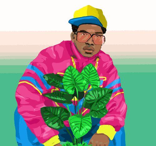 art illustration portrait plants tropical jacket cmyk gifology people with plants oreja de elefante trending #GIF on #Giphy via #IFTTT http://gph.is/2aubXcJ