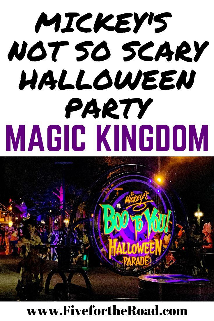 Revisión y detalles de Mickey's Not So Scary Halloween Party para el evento especial …