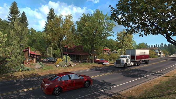 Honk Honk American Truck Simulator S Oregon Expansion Is Out Now