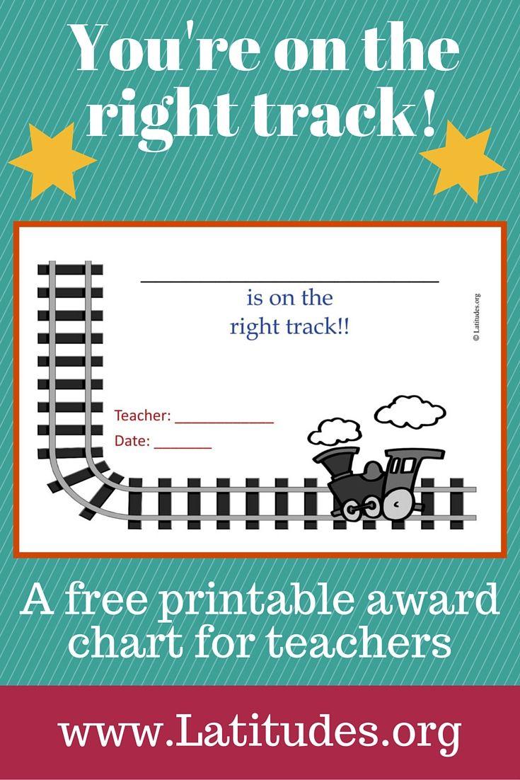 making award certificate