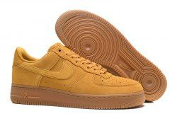 newest 6b622 64088 Unisex Nike Air Force 1 07 Mineral Yellow 896184 700 Men s Women s  Basketball Shoes