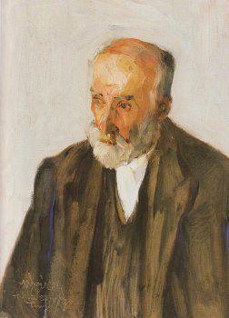Portrait of Sculptor Yannoulis Chalepas, Nikolaos Lytras