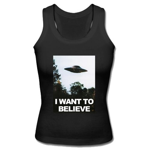 I Want To Believe Tank Top