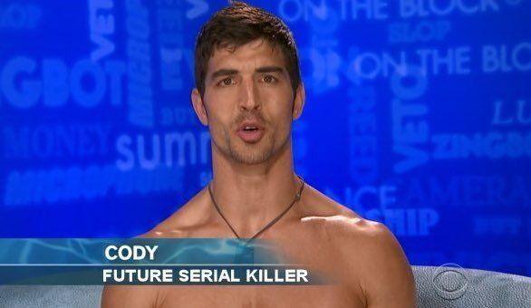 "Big brother 19 -Cody ""Future Serial Killer"""