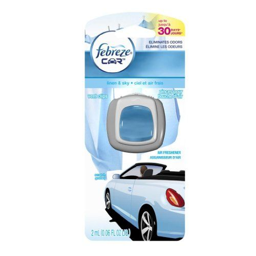 #Febreze #Car #Vent #Clips #Linen & #Sky #Air #Freshener, 0.#13 #Fluid #Ounce each #Febreze #car #vent #clips attach easily and act instantly Eliminate stubborn vehicle odors and slowly release a refreshing scent for up to 30 days on low and under ambient conditions Select your level of intensity to control how much scent is released https://automotive.boutiquecloset.com/product/febreze-car-vent-clips-linen-sky-air-freshener-0-13-fluid-ounce-each/