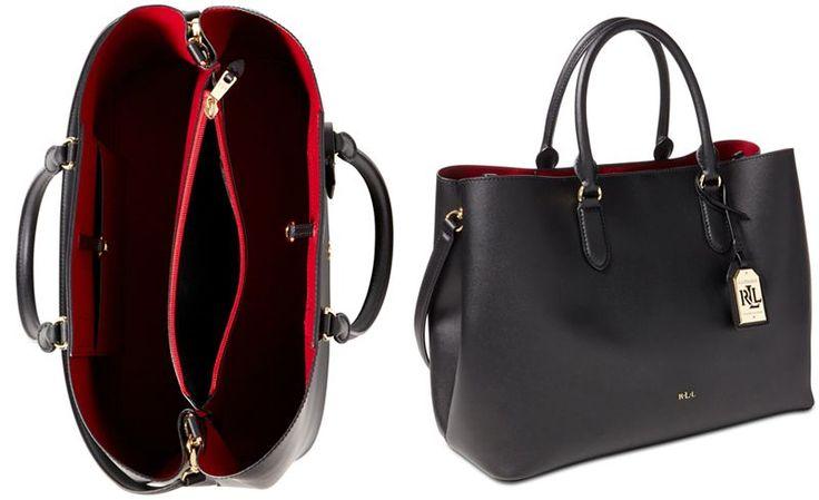 ... store 1f8be bdc57  Lauren Ralph Lauren Dryden Marcy Tote - Tote Bags -  Handbags Accessories - Macys the best ... 87d7324826c17