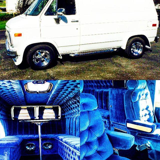 Van Interior I Did Last Year