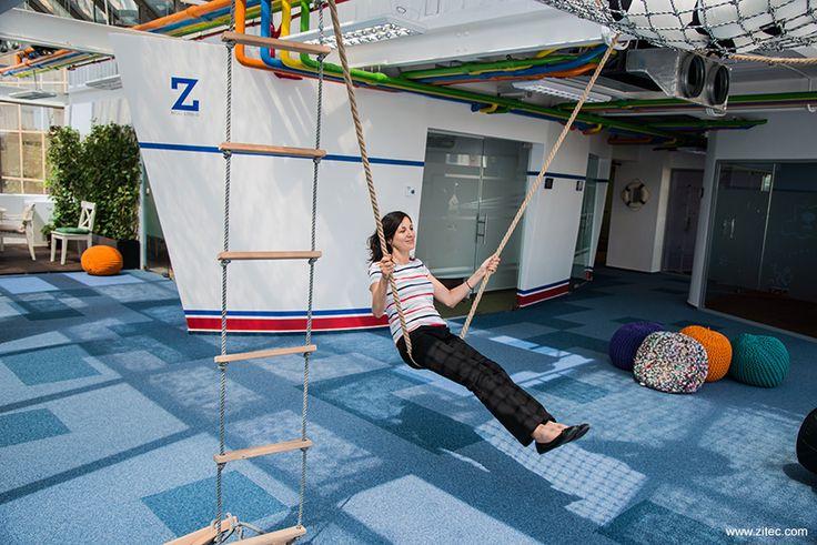 Cum arata unul dintre cele mai misto birouri din Bucuresti - Foto | La zi pe Metropotam