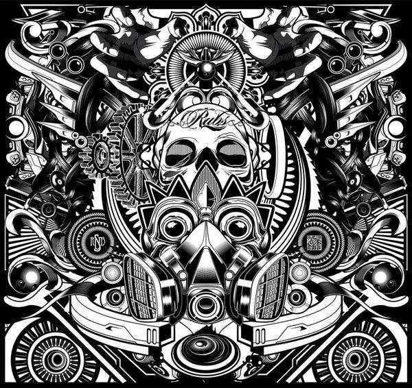 The Black Series by Eno FreshForDeath, via Behance