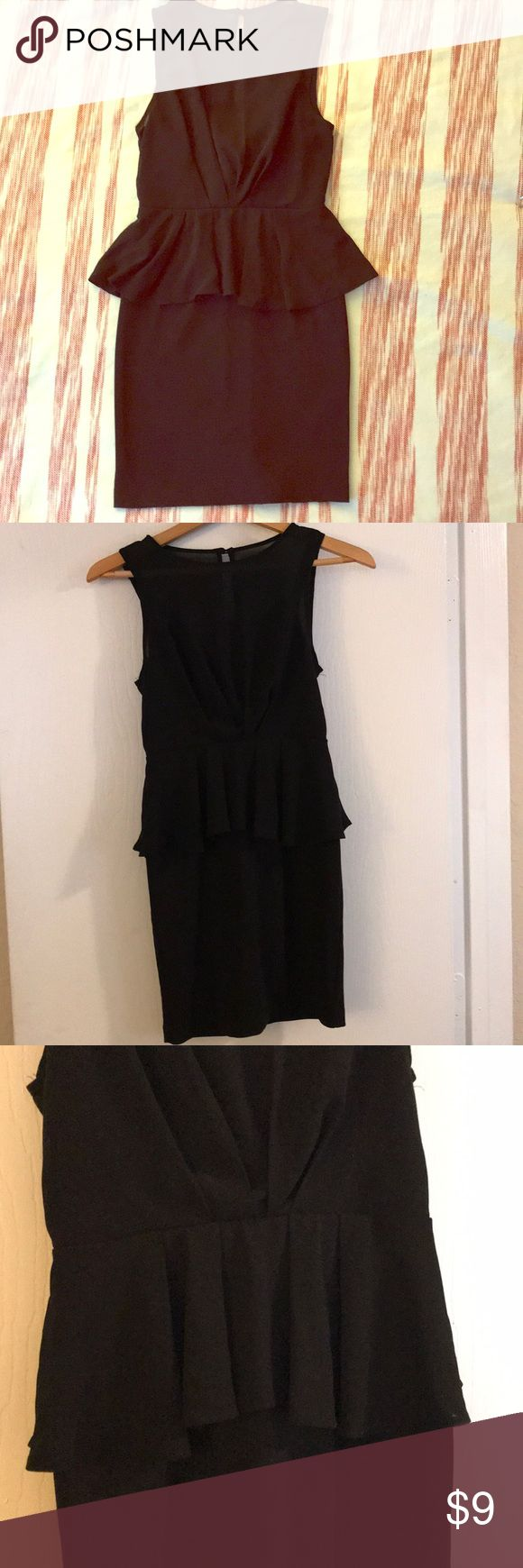 ⭐️Another Little Black Dress⭐️ ⭐️This little black dress is from Forever 21. This little sleeveless number has been gently worn, but is in great shape. It's fitted with a ruffle around the middle and a zipper up the back with one button⭐️ Forever 21 Dresses Mini