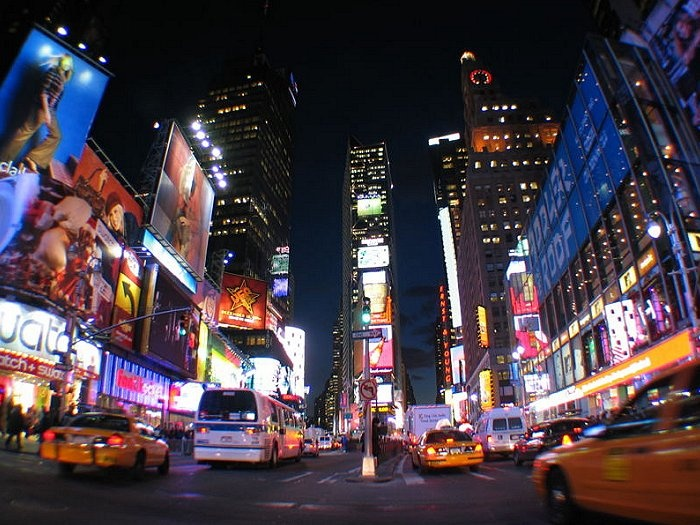 Times Square , New York City , United States Travel Guide