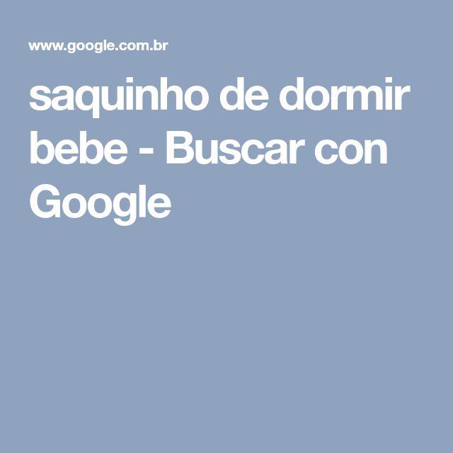 saquinho de dormir bebe - Buscar con Google