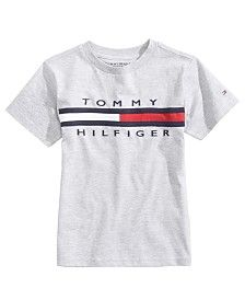 958c02d7f Tommy Hilfiger Tommy Flag Graphic-Print T-Shirt, Little Boys & Reviews -  Shirts & Tees - Kids - Macy's