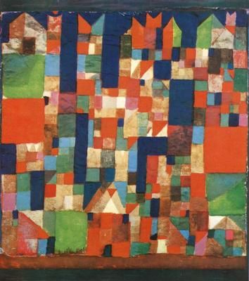 City: Accent 1921, Accent Abstract, Cities Pictures, The Artists, Green Accent, Artists Originals, Klee Paul, Doce Paul, Paul Klee