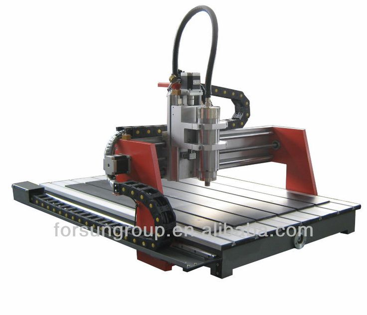 small size advertising used 6090 CNC router machine for pvc mdf arylic aluminium cutting