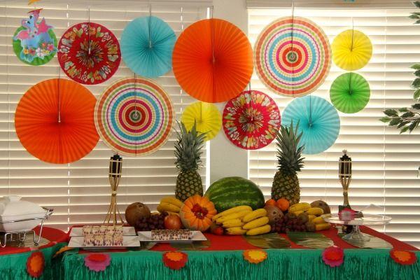 Decoração de festa havaiana: ideias, dicas, fotos - Casa e Festa