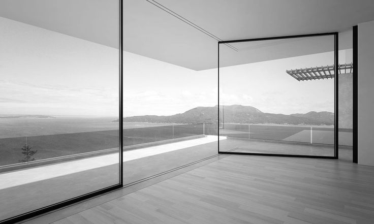 Patented Innovative Window System Slides Around Corners - http://freshome.com/2015/03/02/patented-innovative-window-system-slides-around-corners/