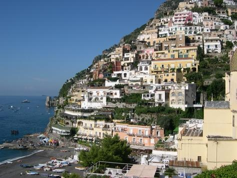 Positano Italy.. If it wasn't for the horrible drive. This i my second favorite place in the world.. So far..