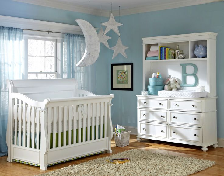 Baby Cribs White Convertible