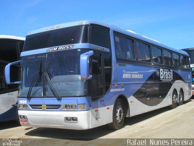 Ônibus da empresa Trans Brasil, carro 1000, carroceria Busscar Jum Buss 360, chassi Mercedes-Benz O-400RSD. Foto na cidade de Aparecida-SP por Rafael  Nunes Pereira, publicada em 19/10/2015 22:03:21.