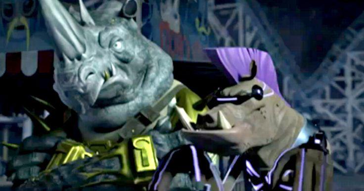 'TMNT' TV Show Clip Introduces New Bebop and Rocksteady -- J.B. Smoove and Fred Tatasciore will voice new versions of Bebop and Rocksteady when 'Teenage Mutant Ninja Turtles' returns to Nickelodeon on Sunday. -- http://www.tvweb.com/news/teenage-mutant-ninja-turtles-tv-2015-bebop-rocksteady
