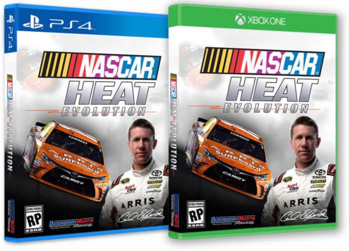 Nascar Heat Evolution Will Now Feature 40 Player Races