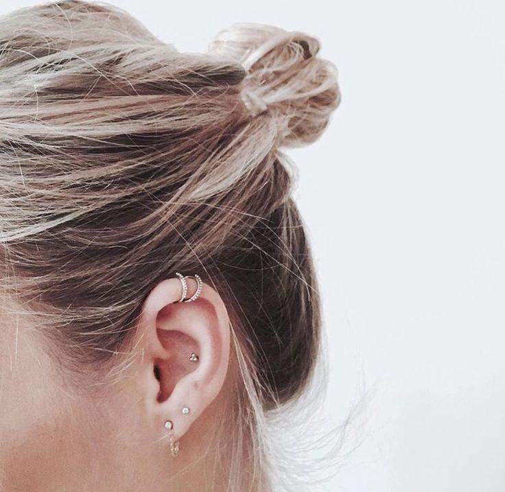 Welp Ear party maken: zó kan jij je oorbellen leuk combineren - By Caitlin© LQ-01
