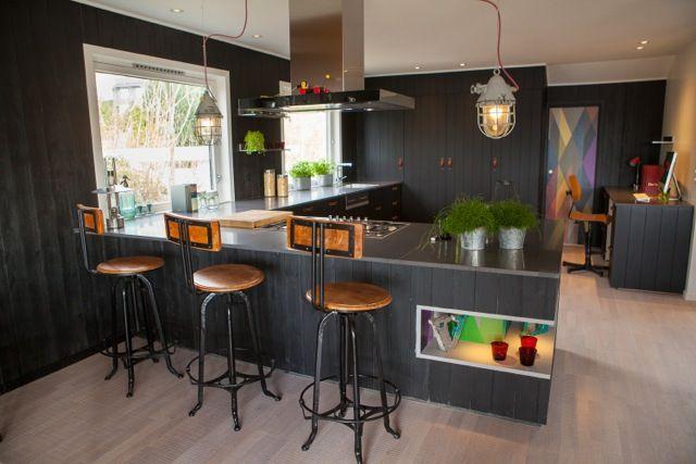 Interior design work by Oliver Heath Design for TV2's Tid for Hjem in Norway  Photograph by Jan Inge Mevold Skogheim