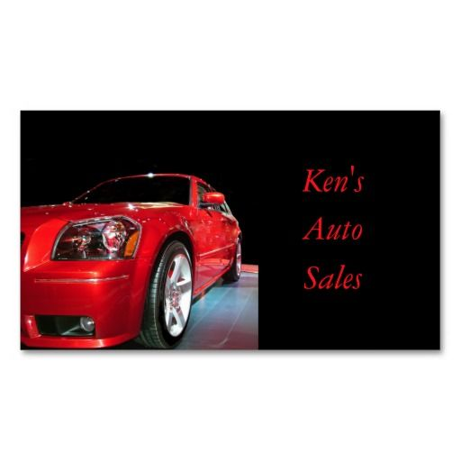266 best images about auto sales business cards on