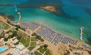 Fig Tree Bay Beach Protaras Cyprus is amongst the 25 best beaches in Europe.