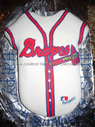 awesome braves cake!
