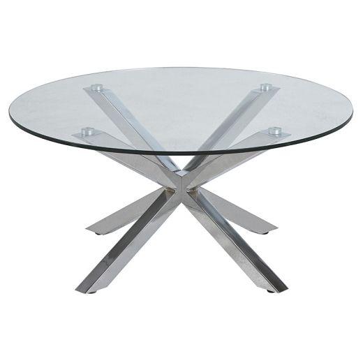 Konferenční stolek skleněný Skyline, 82 cm - 1